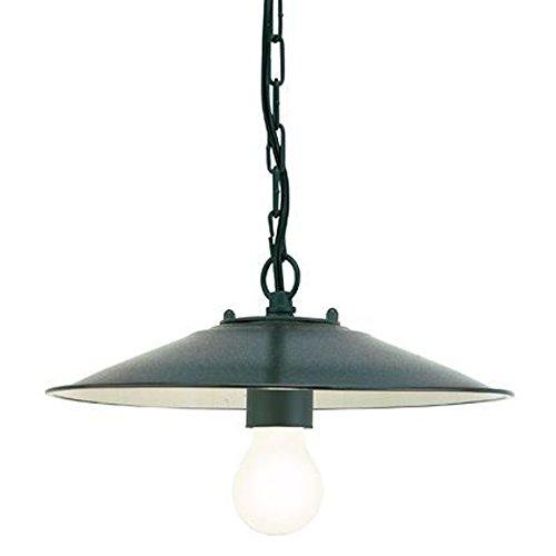 Lampada a sospensione design antico illuminazione da esterno grigio