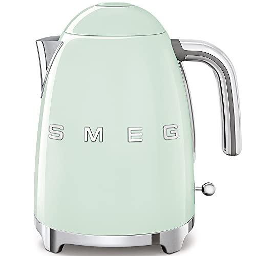 SMEG Calentador de Agua electrico, hervidor KLF03PGEU, 2400 W,...