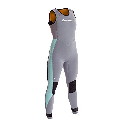 Neil Pryde Damen Elite Firewire 3MM Long John Neoprenanzug aus Saphirgletscher - Leichtes Stretch-Thermofutter