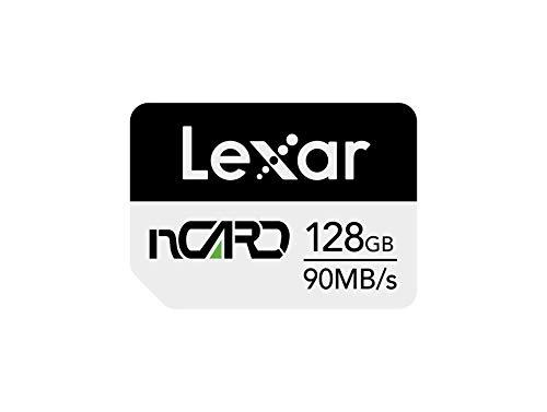 Lexar nCARD NM 128GB Tarjeta de Memoria Nano (LNCARD-128AMZN)