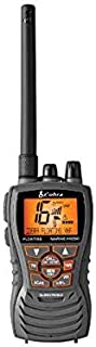 Cobra MRHH350FLT Floating VHF Long Range Marine Radio, Tri-Watch, Burp Feature