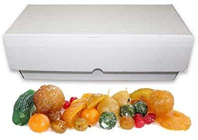 Fruta glaseada/escarchada a granel - En cajones de 5 kg surtida