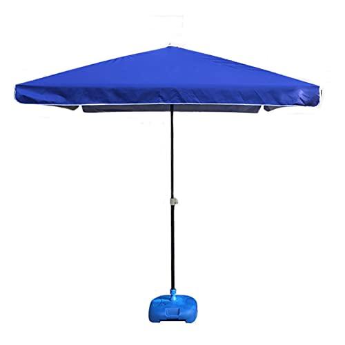 Sombrillas de patio al aire libre de 1,8 m, sombrillas de patio cuadradas grandes, sombrillas de puestos comerciales, sombrillas de playa para acampar con pedestales, utilizadas para terrazas,jardin