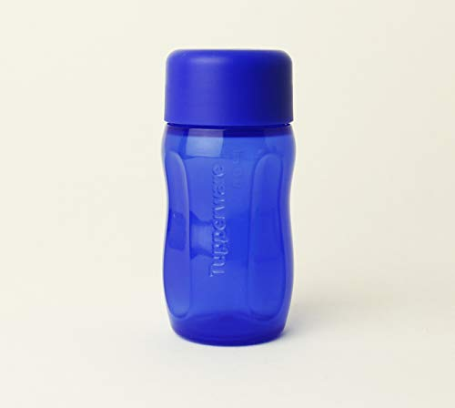 TUPPERWARE EcoEasy to go 1x 90 ml Dunkelblau, Dressing, Sirup
