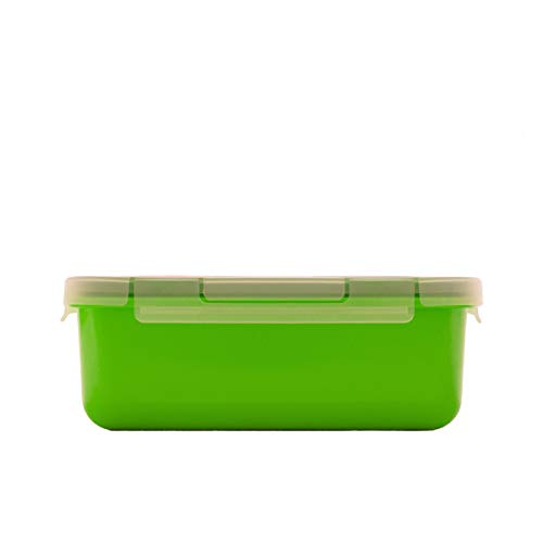 Valira Porta alimentos - Contenedor hermético de 0,75 L hecho en España, color verde