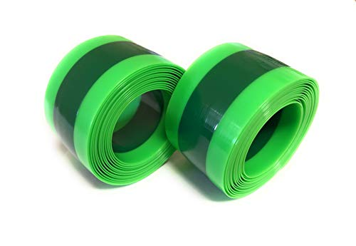 """BW Bike Tire Liners – Inner Tube Flat Protectors for Road, MTB and BMX Bicycles - 12""""-16"""""""
