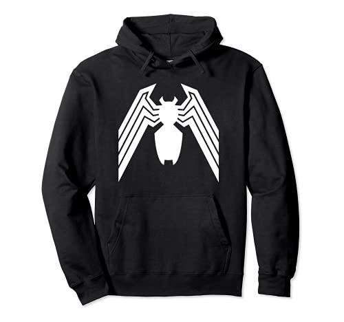 Marvel Venom Sudadera con capucha con logotipo clásico