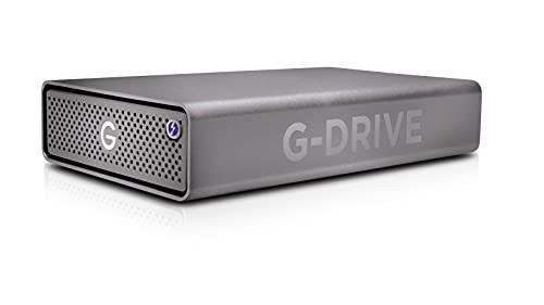 SanDisk Professional 12TB G-DRIVE PRO - Enterprise-Class Desktop Hard Drive, Thunderbolt 3, USB-C, 7200RPM Ultrastar Drive Inside - SDPH51J-012T-NBAAD