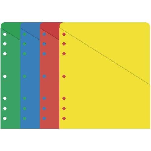 Day-Timer Folio Size ColorLife Slash Pockets, 8.5 x 11 Inches (87498)
