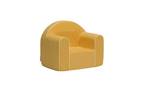 Mini Kindersessel Kinder Babysessel Baby Sessel Sofa Kinderstuhl Stuhl Schaumstoff Umweltfreundlich (Hellorange)