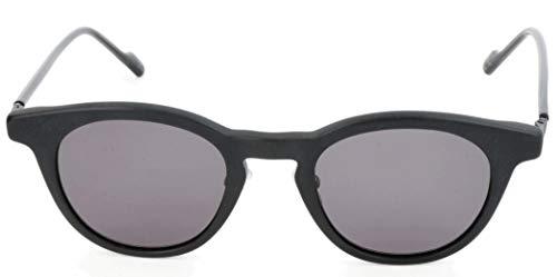 adidas Sonnenbrille AOK002 Rechteckig Sonnenbrille 48, Schwarz