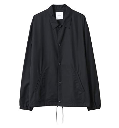 クラネオム(CLANE HOMME) CLANE COACH JACKET BEIGE・BLACK size 1/2