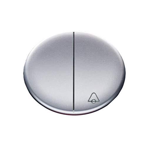 Niessen tacto - Tecla doble pulsador +conmutador serie tacto antracita