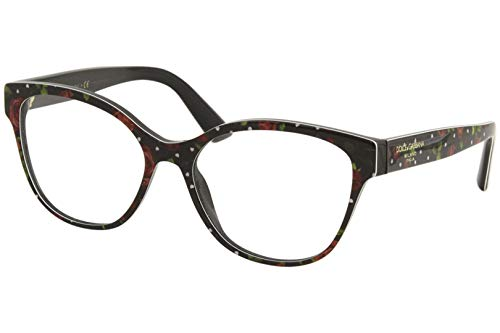 Dolce & Gabbana PRINTED DG 3322 ROSES AND HEARTS 54/16/145 women Eyewear Frame