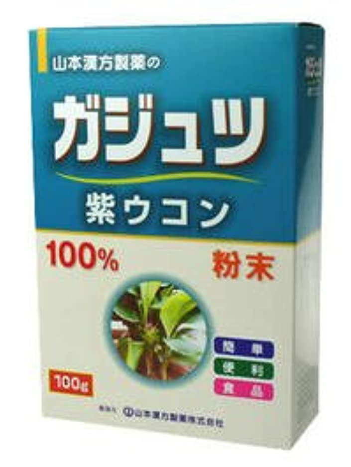 バラ色梨有力者ガジュツ(紫ウコン)100% 100g 山本漢方