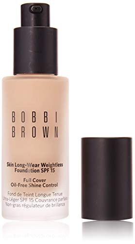 Bobbi Brown Skin Long-Wear Weightless Foundation SPF 15, 1 Warm Ivory, 30...