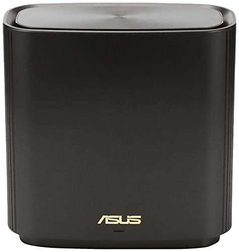ASUSWiFi無線ルーターWiFi61201+4804+574MbpsトライバンドメッシュZenWiFiAX(XT8)(黒)1pack【255㎡/4部屋以上】【PS5/NintendoSwitch/iPhone/android対応】