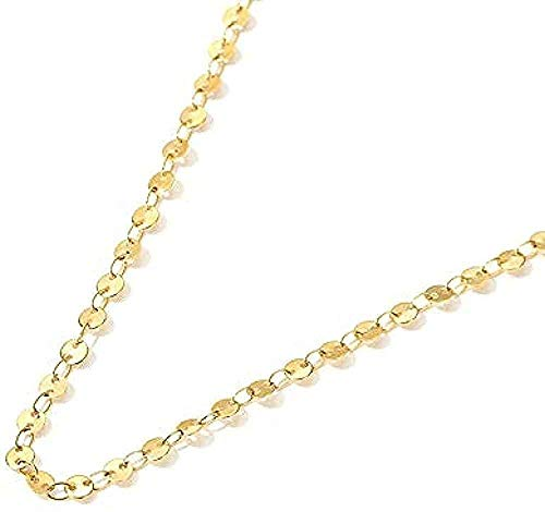 Ahuyongqing Co.,ltd Necklace Necklace Gypsophila Necklace Female Disc Clavicle Chain