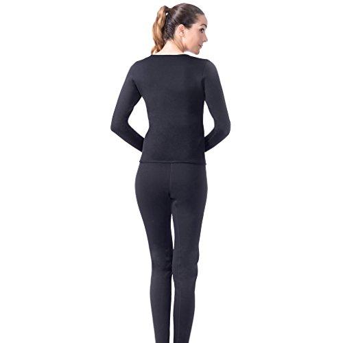 Gazechimp Femmes Minceur Vêtements de Sudation Débardeur Néoprène Combinaison de Sauna Veste pour Perte de Poids Élastique - Noir, XL
