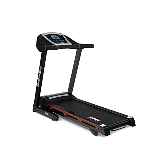 Branx Fitness 'LIMITED EDITION' Foldable StartRun Treadmill - 16.5km/h - 0-16 Level Auto Incline - 5hp Peak Motor - 8 Cushion Suspension Points Grade Belt - Upgraded Rollers