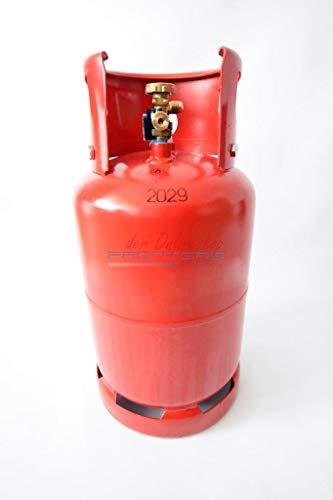 Gasflasche 11 Kg Wiederbefüllbar NEU/Tankflasche + Europa Adapter