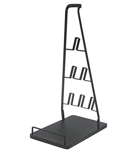Doubleblack Supporto Porta Dyson V10 V11 Aspirapolvere e Accessori Dayson Stand Terra Base Senza Filo Sostegno Nero