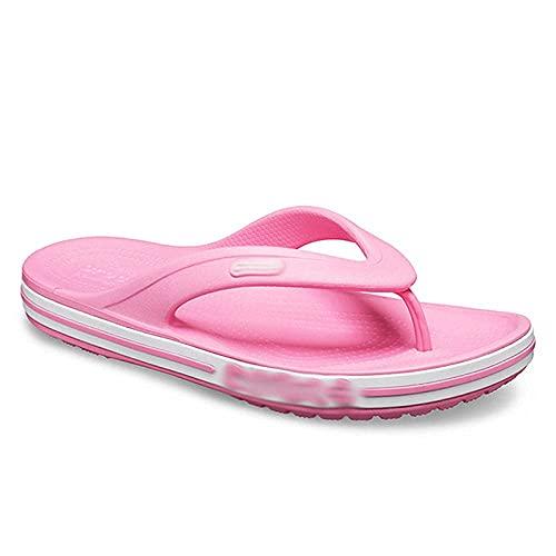 N&W For Men Non-Slip Flip Flops Summer Wear People in The Words Casual Episodes-Deep Blue_41-42 EVA Open Toe Soft Slippers