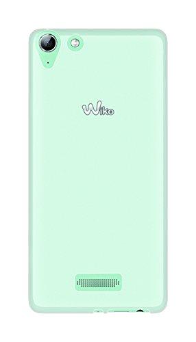 Phonix WKSELGPW Cover 'Gel Protection Plus' mit Bildschirmschutzfolie für Wiko Selfy 4G transparentes weiß