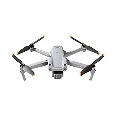 DJI Air 2S - Drone Quadcopter UAV with 3-Axis Gimbal Camera, 5.4K Video, 1-Inch CMOS Sensor, 4 Directions of Obstacle Sensing, 31min Flight Time, Max 12km Video Transmission (FCC), MasterShots, Gray