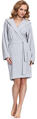 Merry Style Bata Ropa Casa Lenceria Mujer MS542 Gris