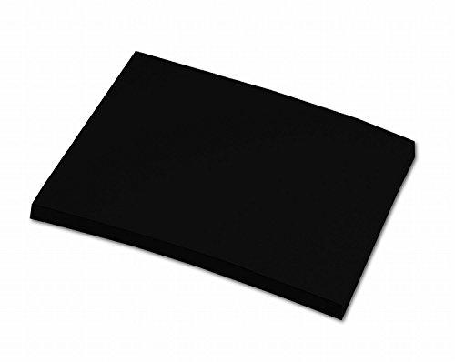 Preisvergleich Produktbild folia 6490 - Tonpapier schwarz,  DIN A4,  130 g / qm,  100 Blatt - zum Basteln und kreativen Gestalten von Karten,  Fensterbildern und für Scrapbooking