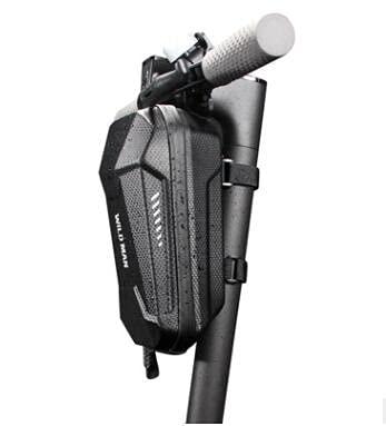 Bolsa para manillar de scooter resistente al agua 2 L, bolsa de almacenamiento para patinete eléctrico, bolsa para manillar