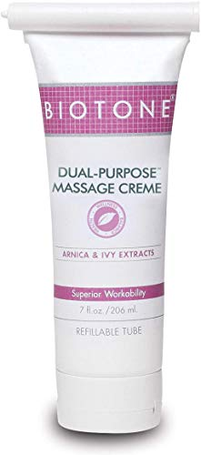 Biotone Dual Purpose Massage Creme, 7.0 Fluid Ounce