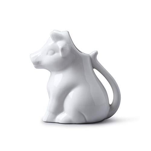 WM Bartleet & Sons 1750T183Caraffe da latte a forma di mucca, bianco, 175ml