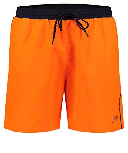 BOSS Herren Starfish Shorts, Orange (Bright Orange 824), M EU