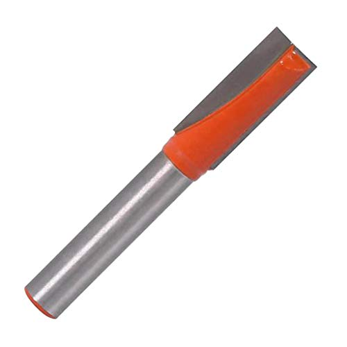 Baoblaze Grooving Cutter Router Cleaning Bit for Woodworking Bottom of Wood - Orange, C