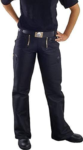 Damen-Zunfthose aus Doppel-Pilot schwarz, JOB Grösse 42