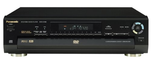 For Sale! Panasonic DVD-CV50 5-Disc DVD Player