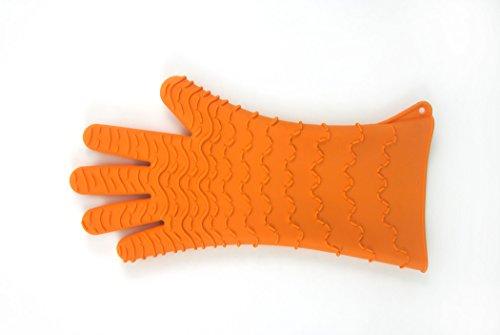Charcoal Companion Gant en Silicone CC5154-orange, Orange, 2,49x17,09x34,49 cm
