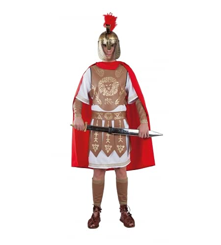 Fiesta y Carnaval, S.L.. DISFRAZ LEGIONARIO ROMANO ADULTO - Talla 50-52  XL Mujer | M Hombre