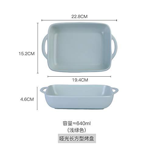 N A Porzellan - Keramik - Käse Gebacken Reisgericht Reisschüssel Zu Hause Backen Schale Westlichen Gericht Ohren