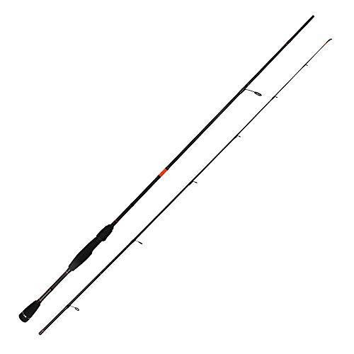 HTO Rockfish '19 Angelrute, schwarz/orange, 8'6