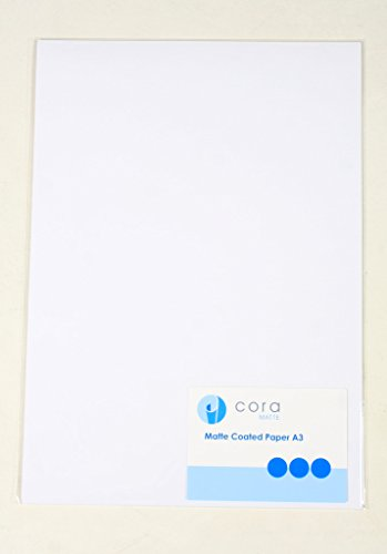 Hi Res Matte Gecoat Papier A3 25 Vellen 200 g/m² voor Epson Expression Printers