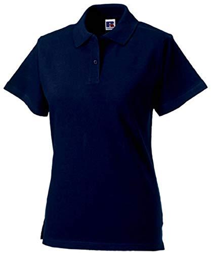 Russel Europe Ladies Classic Cotton Damen Polo Shirt, Größe:XL, Farbe:French Navy