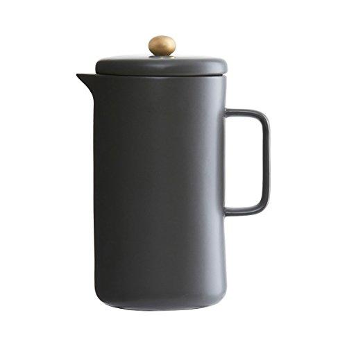 House Doctor - Kaffeepresse, Kaffeezubereiter, Stempelkanne, Kaffeekanne - Pot - 1 Liter - Farbe: Schwarz