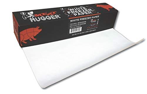 Spenderbox für Gefrierschrank, 45 cm x 175 m, Polybeschichtet, feuchtigkeitsbeständig, mit matter Seite zum Einfrieren von Fleisch, schützt vor Verbrennung des Gefrierschranks