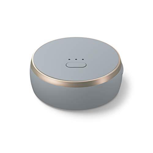 Curve smarter GPS-Tracker mit Bluetooth und integrierter smart SIM, Leichter Tracker für Taschen, Hunde, Auto, Laptop, Schlüssel, keine monatlichen Abo Kosten, 24 Monate Smart SIM Service inklusive