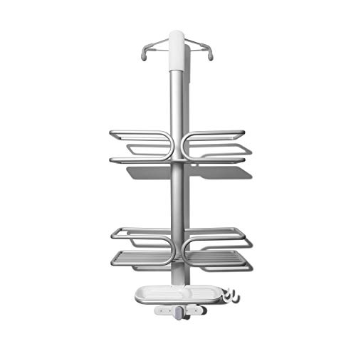 OXO Good Grips Over The Door Aluminum Shower Caddy
