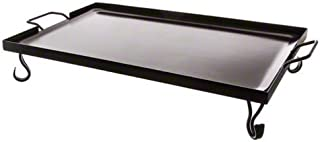 Black 21.125 Length x 18 Width INC. 21.125 Length x 18 Width American Metalcraft GS18 Griddles and Stands