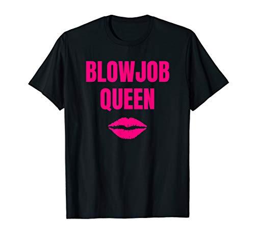 BlowjobQueen Swinging Lifestyle Hotwife Kleidung Swinger T-Shirt